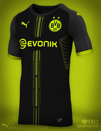 Puma Borussia Dortmund 18-19 Concept Kit by Prez - Footy Headlines 474c6cfab0507