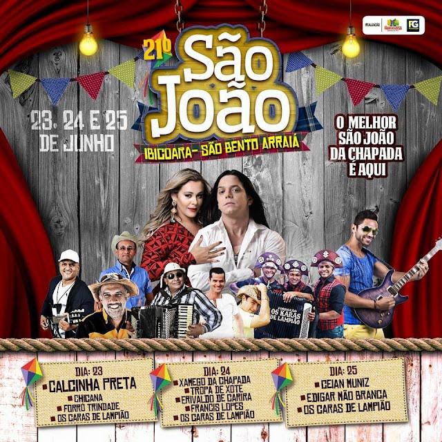 São João de Ibicoara - XXI São Bento Arraiá