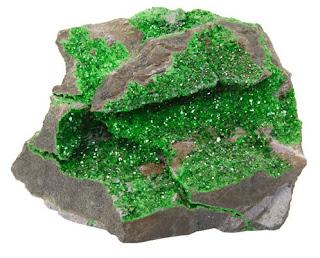 mineral uvarovita verde roca | Foro de minerales