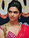 Deepika padukone red hot saree