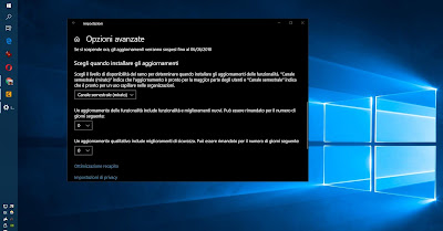 ritardare aggiornamenti windows