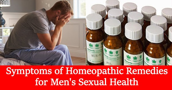 Homeopathic sexual health