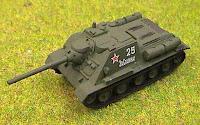 SU 85 Anti-tank Gun
