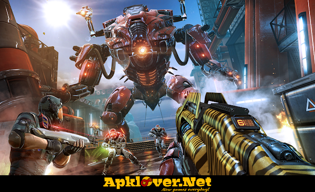 Shadowgun Legends MOD APK unlimited ammo