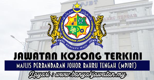 Jawatan Kosong 2017 di Majlis Perbandaran Johor Bahru Tengah (MPJBT) www.banyakjawatan.my
