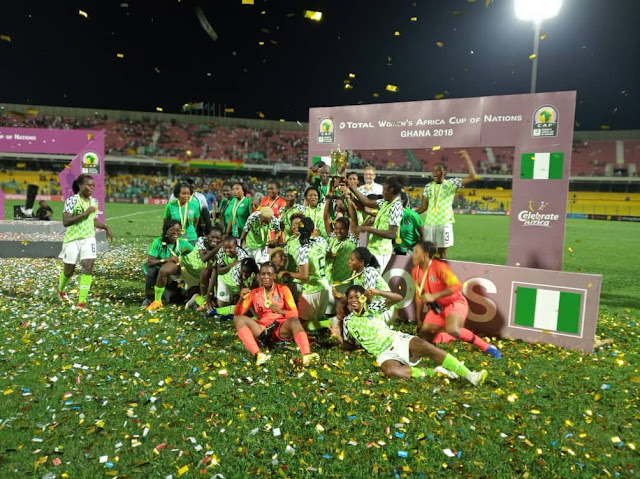 Super Falcons given $5k instead of $10k promised to them