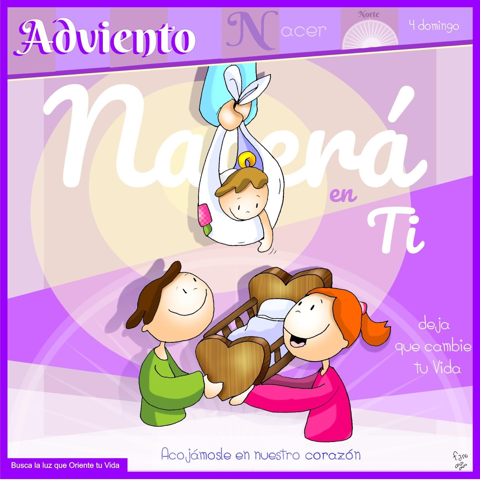 La Catequesis (El blog de Sandra): Dibujo de Fano Cuarto Domingo de Adviento  Ciclo B