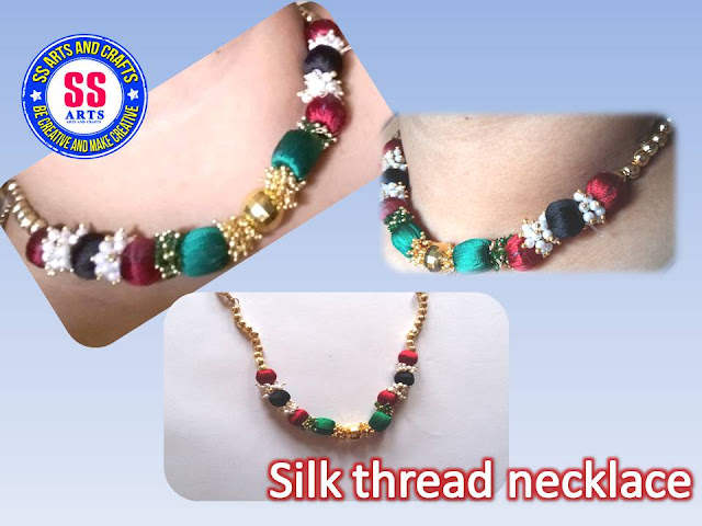 Here is silk thread jewellery,how to make silk thread choker making at home,silk thread necklace making at home,silk thread ear jumkas,silk thread beads anklets,how to make silk thread beads choker at home