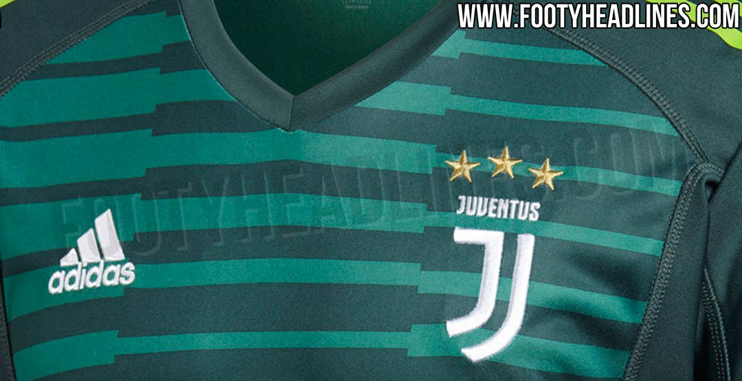 8a75ae398 Official pictures of the Juventus 18-19 goalkeeper kit have leaked. It s  set for a release in May 2018 together with the home kit.
