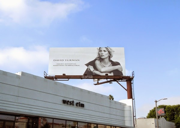 David Yurman jewelry 2014 billboard