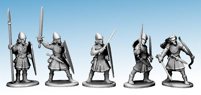 Northstar Miniatures: New Oathmark Plastic Elf Infantry Previewed