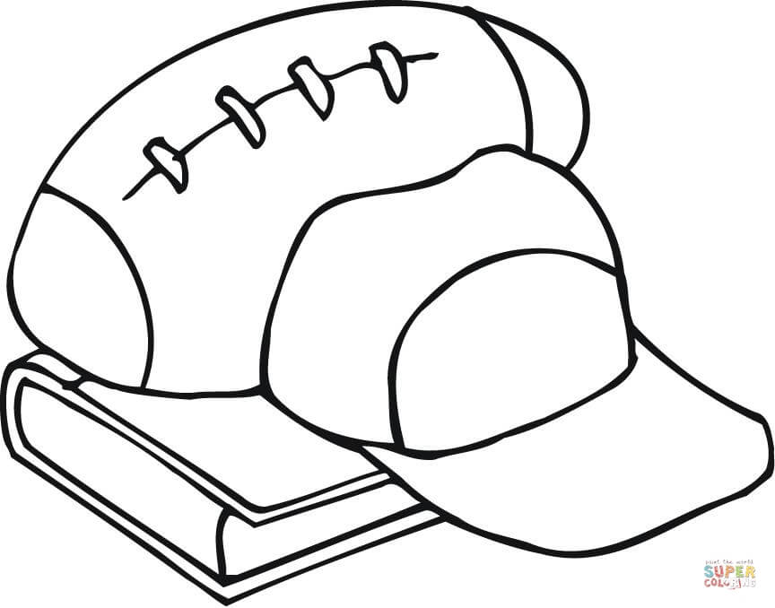 Football Coloring Pages Kids Should Have Five Facts