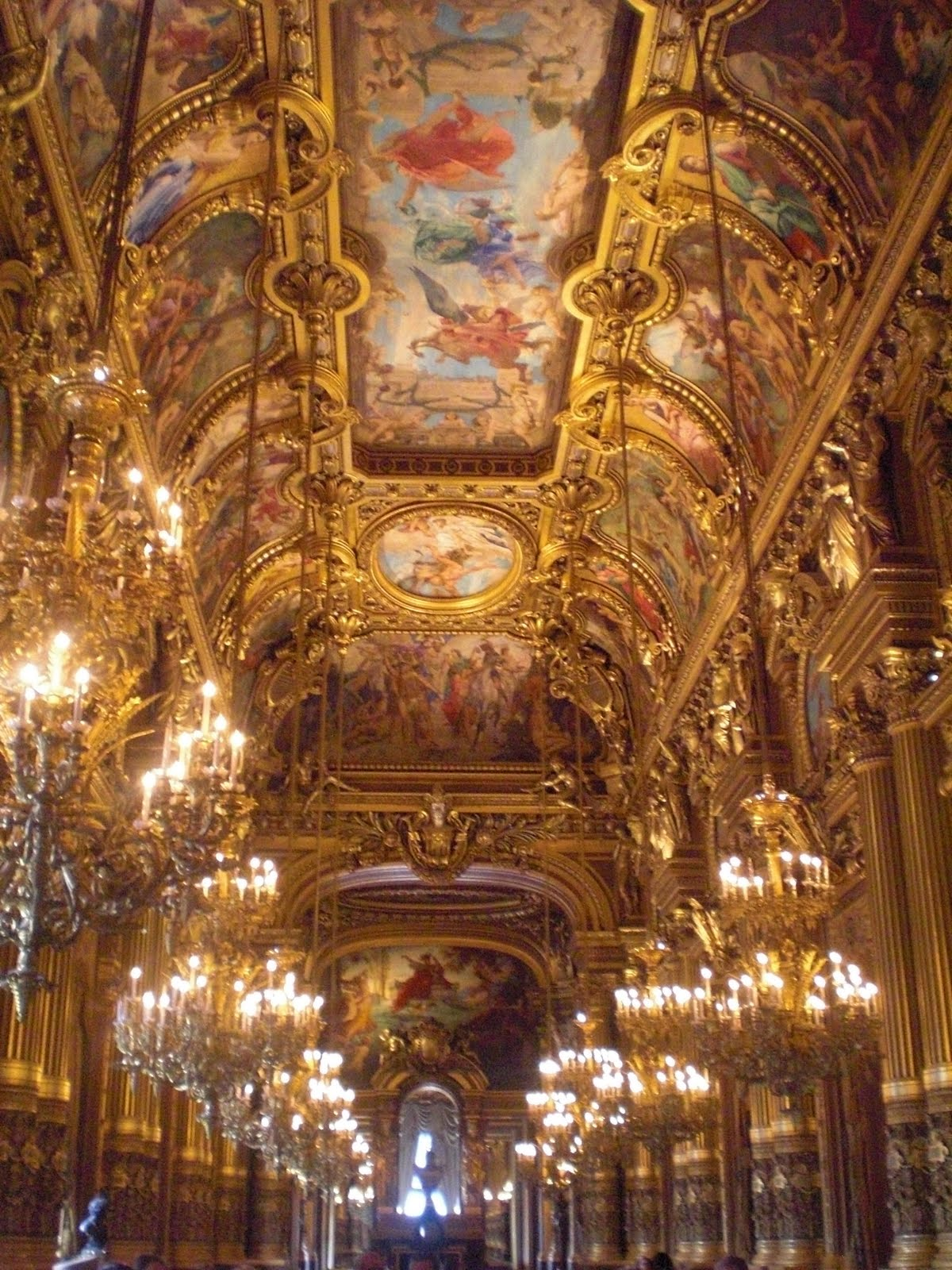 Room Sketching: -: Paris Opera House, And The Long Walk To The Grand Arch