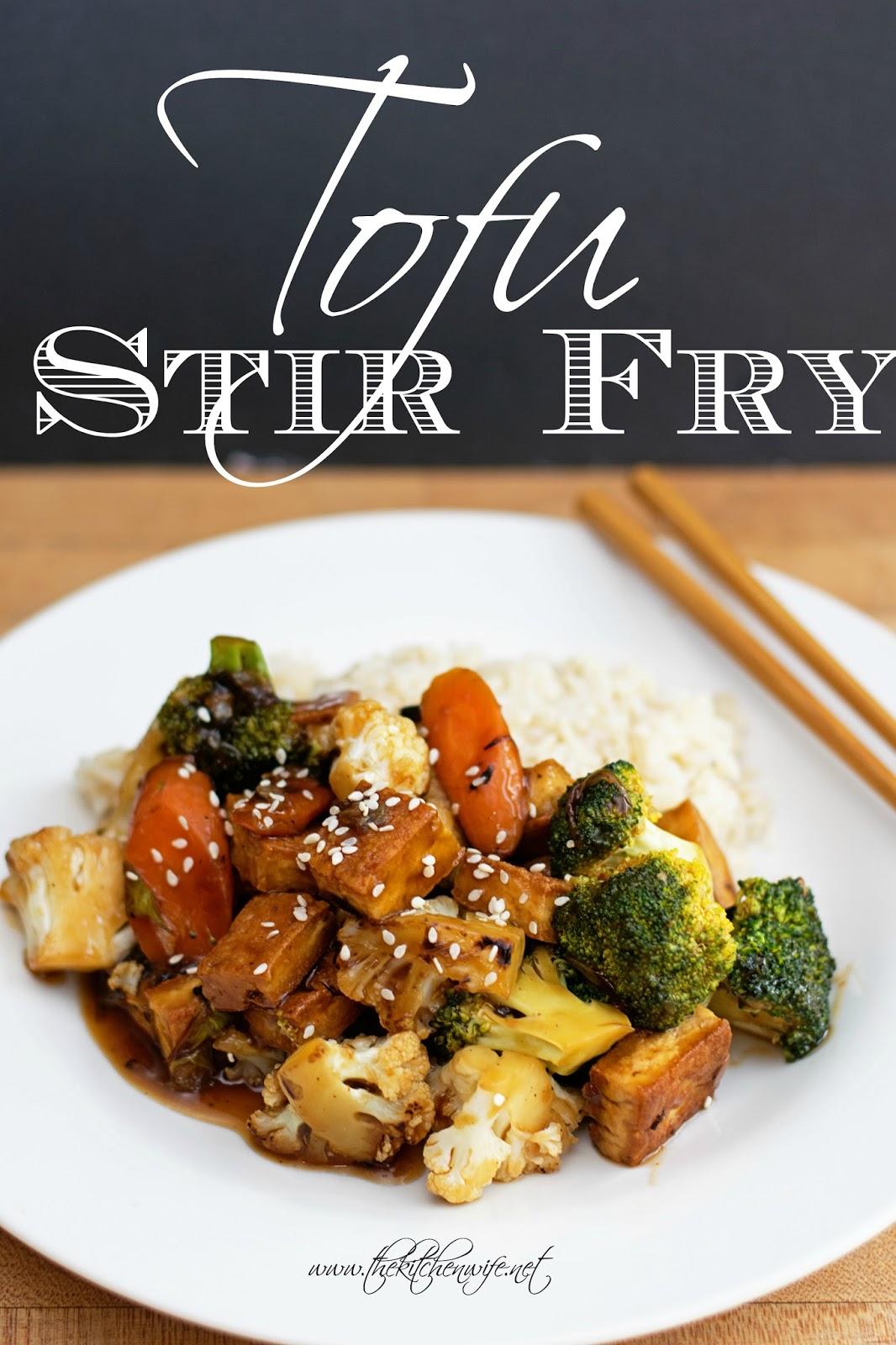 how to cook tofu for a stir fry