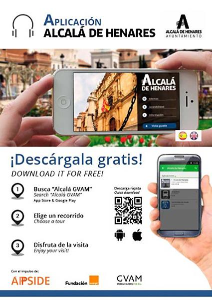 Aplicación Alcalá para Móviles 'Alcalá GVAM'