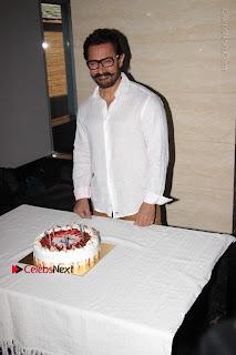 Bollywood Actor Aamir Khan Birthday Party Celetion Stills  0007.JPG