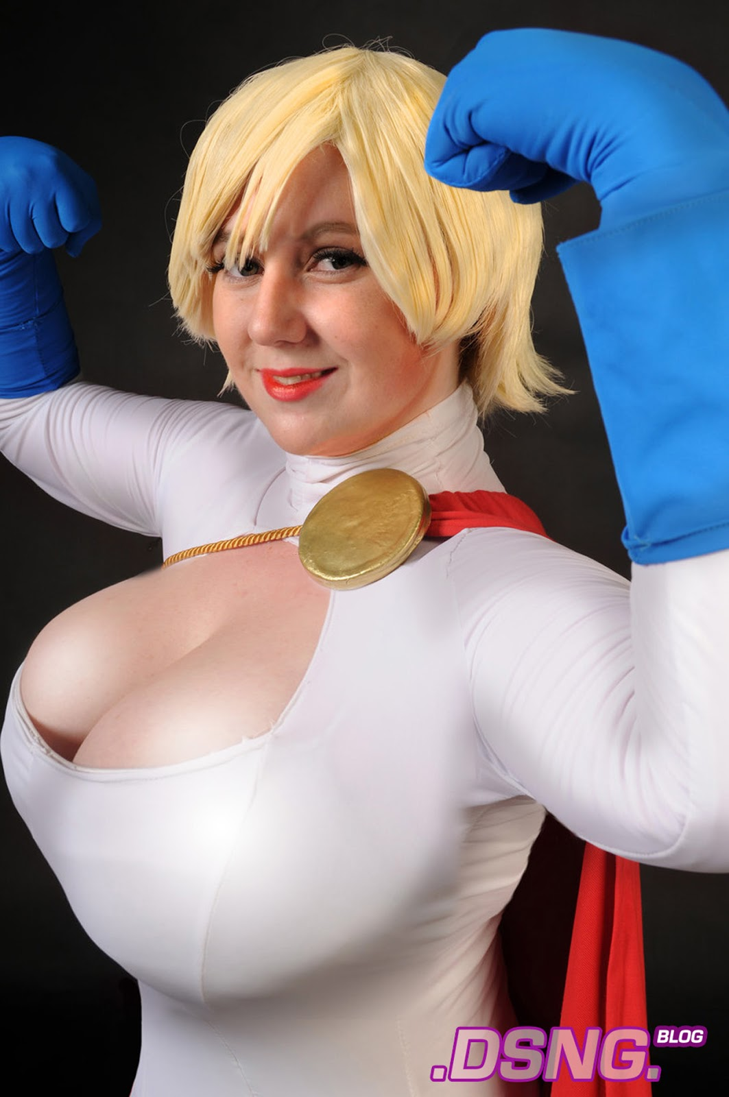 Something is. sexy power girl nude something is