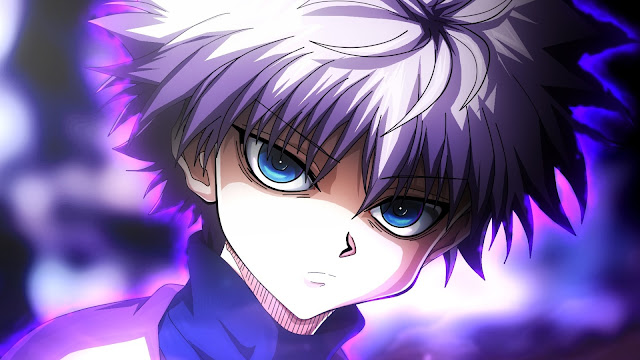 wallpaper hunter x hunter killua bloodlust