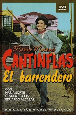 Cantinflas: El Barrendero 1982 DVDR NTSC Latino
