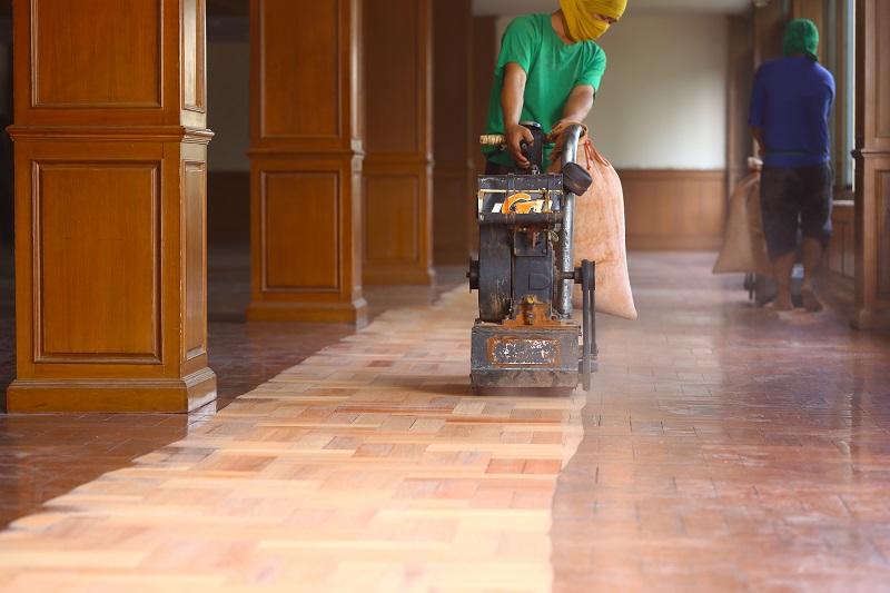 Professional Sanding and Polishing