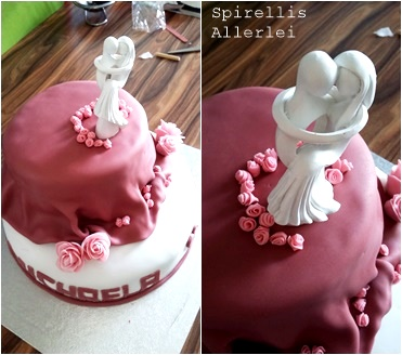 Spirellis Allerlei - Hochzeitstorte selbst gemacht