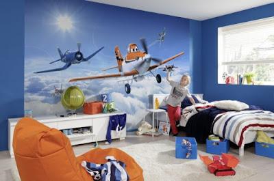 +40 3D wallpaper design ideas for children room 2019