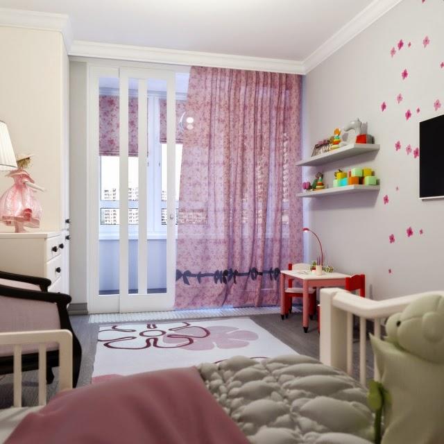 Hermosos cuartos para ni as dormitorios colores y estilos - Habitaciones pequenas para ninas ...