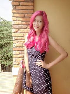 Barbie pink hair of Vannessa Pinlac