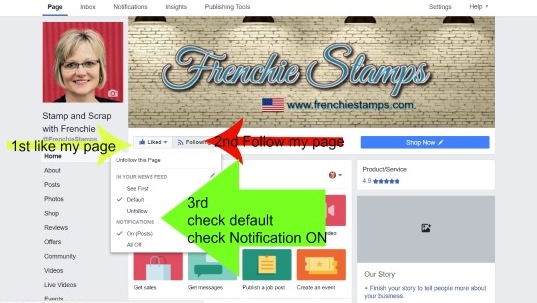 here can you find Frenchie Stamps Live stamping class.