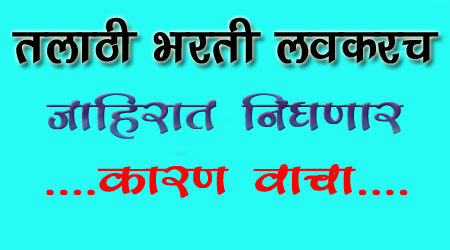 Talathi Bharti recurument 2019