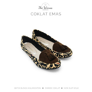 COKLAT EMAS THE WARNA