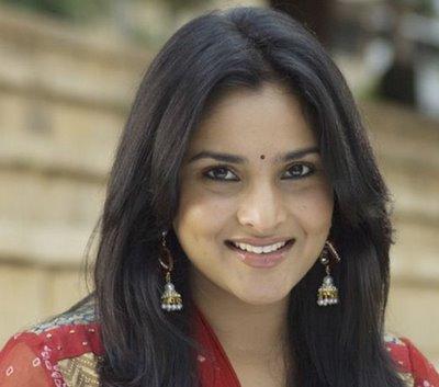 Kannada Actress Close Up Beautiful Cute Smile Face Hot Picture