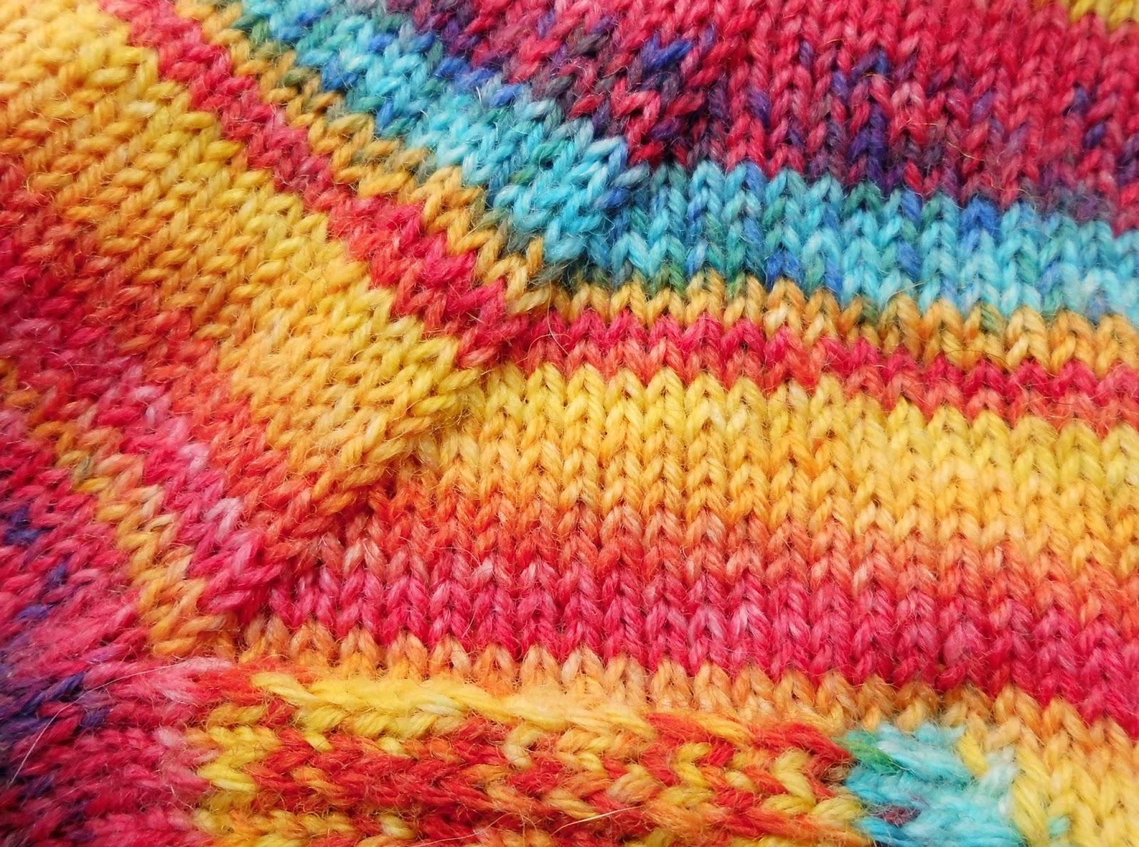 Sock knitting for beginners: gusset decrease
