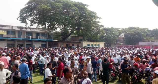 Motorcycle rally in Baliakandi for Zillul Hakim