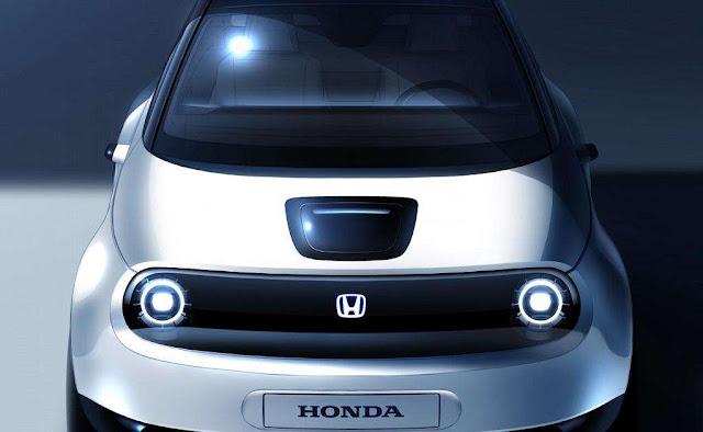 Honda lanza nuevo boceto de su próximo vehículo eléctrico