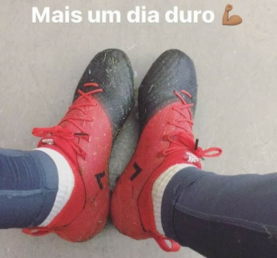 Renato Sanches Shows Off Camouflaged Next Gen Adidas Ace 17