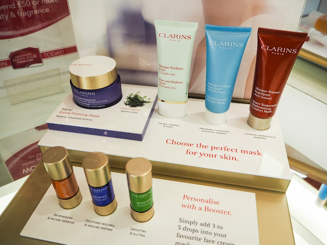 Clarins Skincare Masks and Boosters