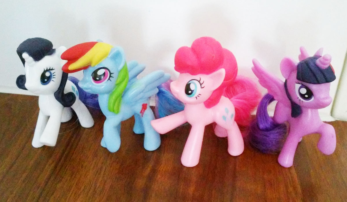 New My Little Pony Happy Meal Toys In Europe Mlp Merch