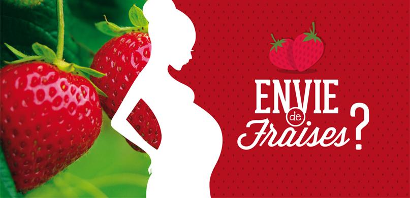 La futur maman a des envies de fraises