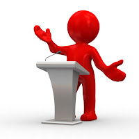 Should I use a lectern during my presentation?