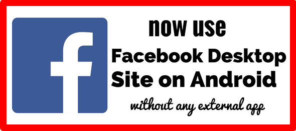Facebook Desktop Site Login Android