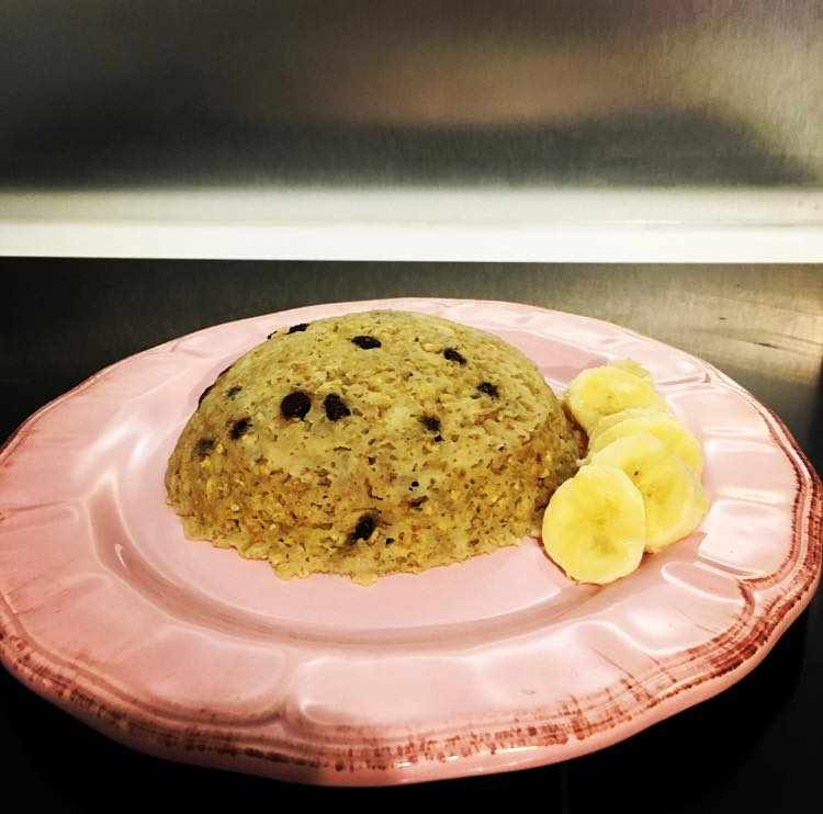 Bowl Cake Banane Pepites De Chocolat Pour 288 Calories Sab En