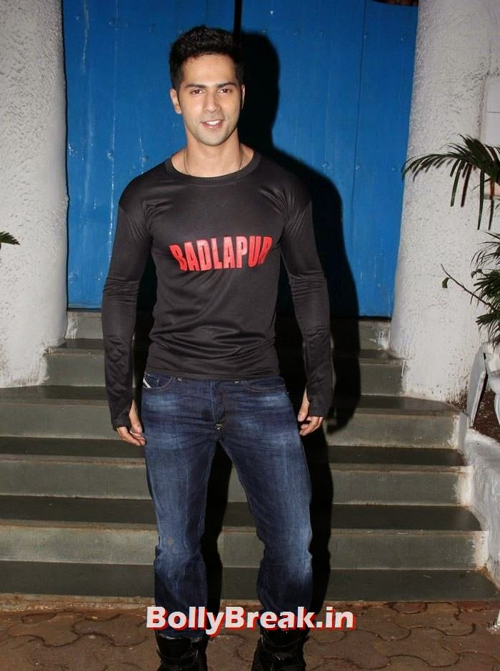Varun Dhawan, Varun, Yami, Shruti, Nargis Pics from Badlapur Movie Wrap up party