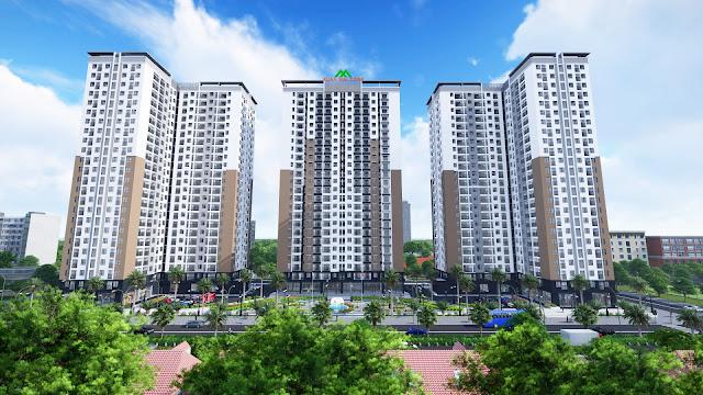 Phối cảnh dự án Xuân Mai Thanh Hóa
