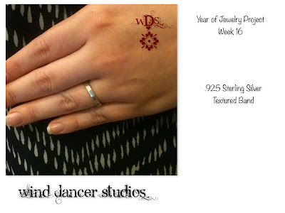 Wind Dancer Studios: Sterling Silver Band