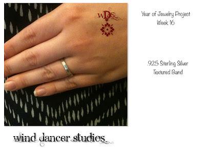 Wind Dancer Studios: Sterling Silver Band