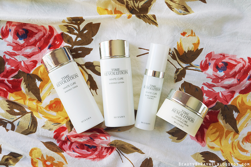 First impressions Review Missha Time Revolution White Cure Special Set