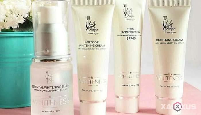 Cream pemutih wajah yang aman dan bagus - La Tulipe Lightening Cream
