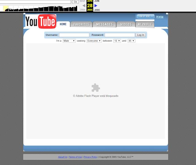 youtube em 2005