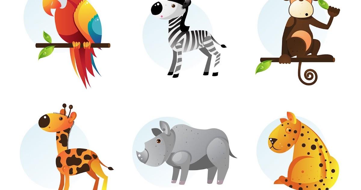 Dibujos De Animales A Color Para Imprimir: Imagenes De Dibujos De Animales